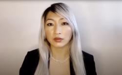 志摩市出身濵口芙由紀さん(カリフォルニア州弁護士、プロアメフト選手)から志摩市へのメッセージ